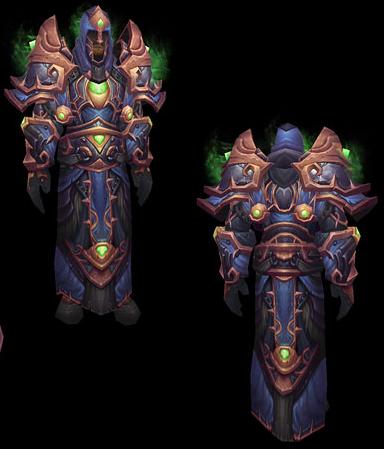 Alliance Warlock Tier 9